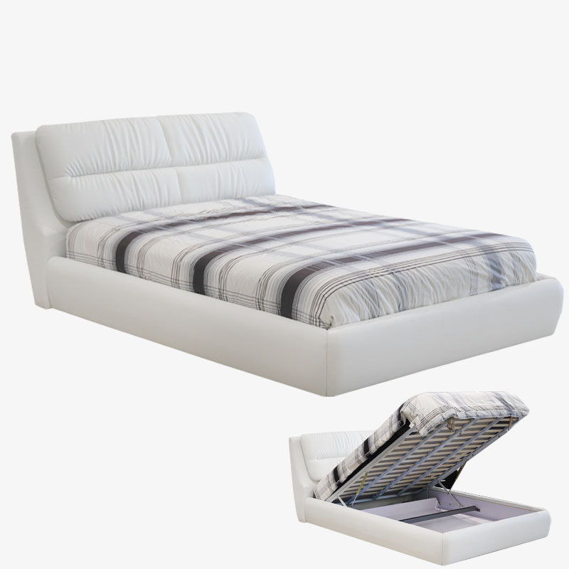 Capri Lift Storage Bed Edmonton Mobler Furniture