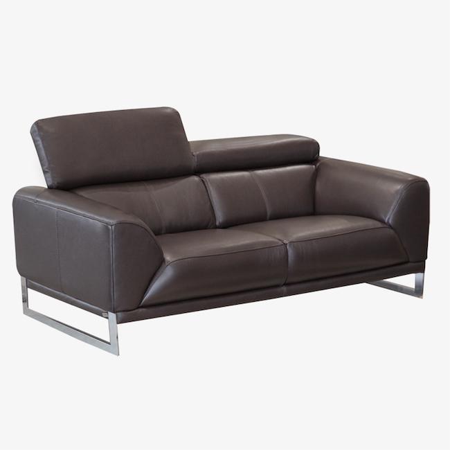 Italian Leather Sofa Edmonton: Expresso Leather Sofa
